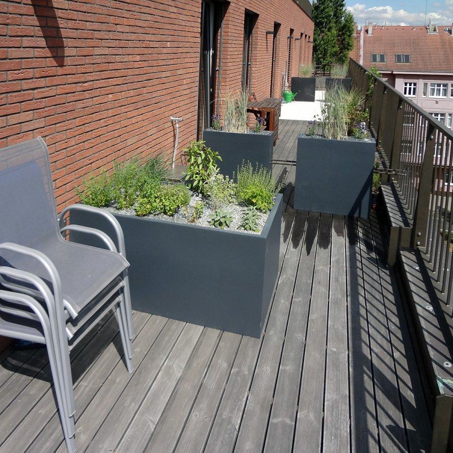Umgestaltung Krautergarten Dachterrasse Umgestaltung Eines Pools ...