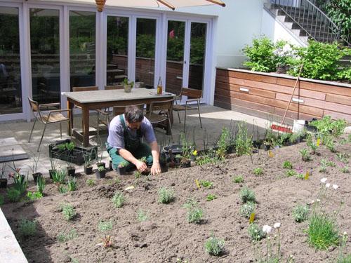 Terrassenbau In Berlin Terrasse Anlegen Und Bepflanzen