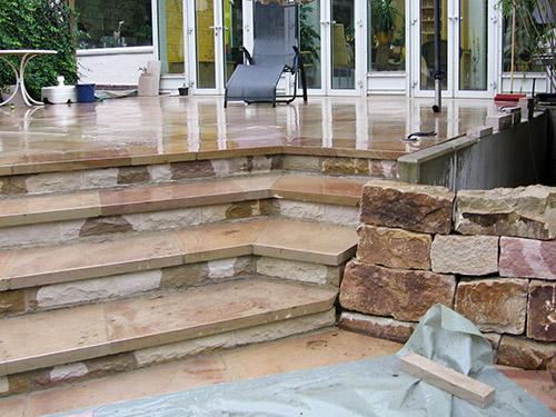 terrassenbau in berlin terrasse anlegen und bepflanzen With französischer balkon mit garten terrassenbau berlin
