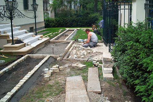 vorgarten gestalten pflastern – reimplica, Garten und Bauen